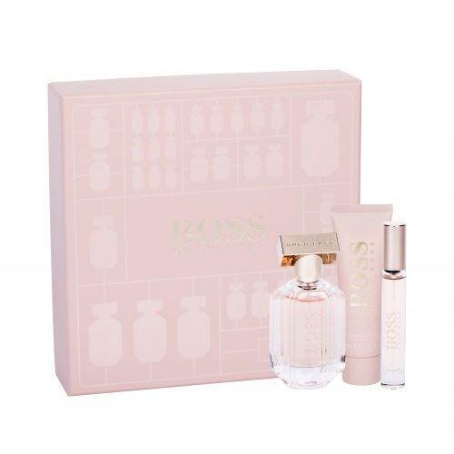 Hugo boss boss the scent for her zestaw edp 50ml 7,4ml edp + 50ml balsam dla kobiet