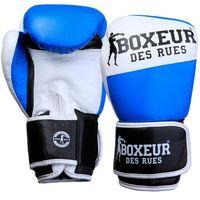 Rękawice bokserskie BOXEUR BXT-591 (10 oz) Niebiesko-biały
