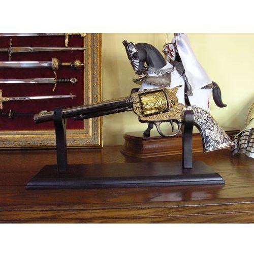 Cudna replika broni - grawerowany colt z długą lufą 1876 (10210) marki Hiszpania