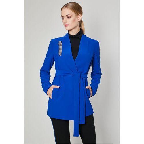 996b8c47a880f Kobaltowa marynarka Moron - , kolor niebieski (Click Fashion) opinie ...