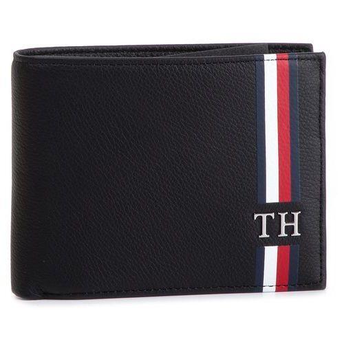 1cb39a3a63d8f TOMMY HILFIGER Duży portfel męski - th corporate cc flap and coin  am0am04559 002 Tommy hilfiger