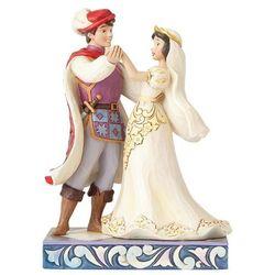 Ślubna para śnieżka i królewicz (snow white & prince figurine) 4056747 artysty figurka ozdoba świąteczna marki Jim shore
