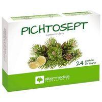 Tabletki Pichtosept Olejek pichtowy 24 tabl.