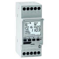 Wielofunkcyjny programator ASTRO -LUX-TIME – 1 kanał, 2 DIN 1IO-4091, 1IO 4091