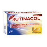 Tabletki Rutinacol (Witamina C, Cynk, Rutyna, Beta Glukan) 120 tabl.