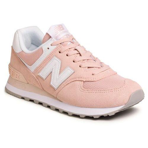Sneakersy NEW BALANCE - WL574OAB Pomarańczowy, kolor pomarańczowy
