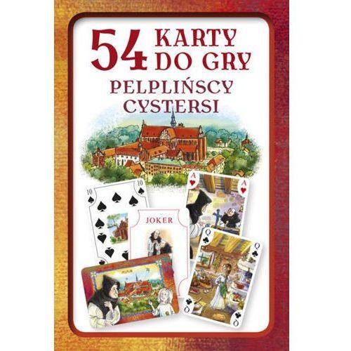 Praca zbiorowa Karty do gry – pelplińscy cystersi (zestaw 54 kart)