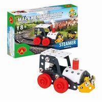 Mały konstruktor Steamer Ciuchcia 74 elementy (5906018015621)