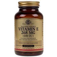 Kapsułki Solgar Witamina E 268 mg (400 IU) - 100 kapsułek