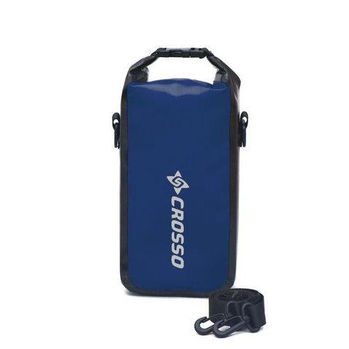 Torebka wodoszczelna mini bag 2l - blue/black Crosso