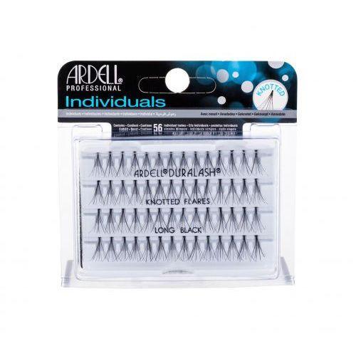 Ardell individuals duralash knotted flares sztuczne rzęsy 56 szt dla kobiet long black - Promocyjna cena