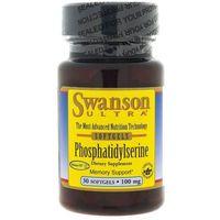 Kapsułki Swanson Fosfatydyloseryna (Phosphatidylserine) 100 mg - 30 kapsułek