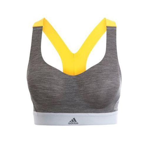 Adidas Performance COMMITTED Biustonosz sportowy dark grey heather, DLR24