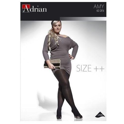 8cb5028630ad79 Zobacz w sklepie Rajstopy Adrian Amy Size++ 60 den 6 ROZMIAR: