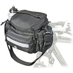 Author Wyprzedaż torba na kierownicę a-h740n czarna 25.4-31.8 mm