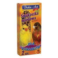 Dako-art smakoszka - kolby miodowe dla kanarków 2szt.