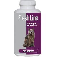 fresh line szampon w pudrze dla kotów 250g marki Dermapharm