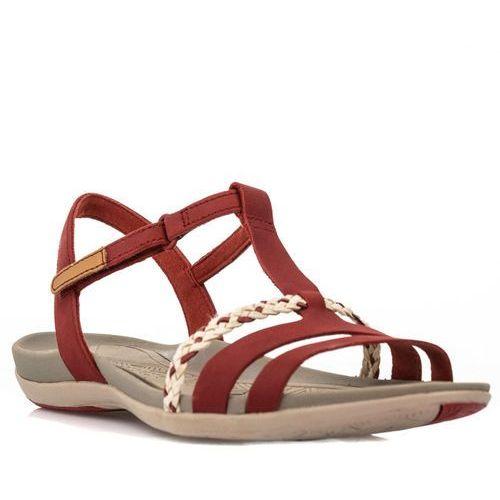 Sandały damskie CLARKS Tealite Grace Red (261238924)