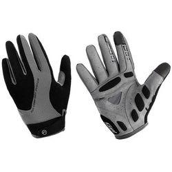 610-80-55_ACC-M Rękawiczki z długimi palcami Accent Champion czarno-szare M