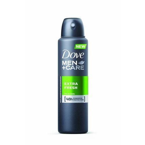 Dezodorant Dove Men plus Care Extra Fresh Antyperspirant w sprayu 150 ml (8717644579886)