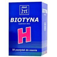 Tabletki Zdrovit Biotyna Witamina H 50 tabl.
