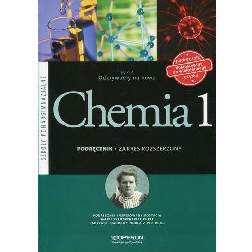 Chemia LO 1 Odkrywamy na... podr ZR w. 2015, oprawa broszurowa