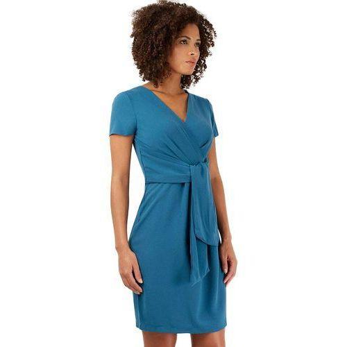 Closet london damska sukienka 40 niebieska