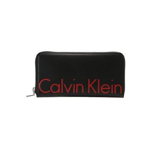Calvin Klein Jeans LARGE ZIPAROUND TECH Portfel black, K40K400160