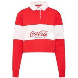 Tommy Jeans Bluzka sportowa 'TOMMY X COCA-COLA' czerwony / biały, kolor czerwony
