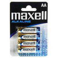 Maxell 4 x bateria alkaliczna alkaline lr6/aa