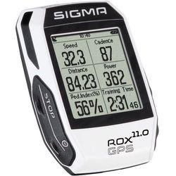 Sigma Licznik rowerowySigma ROX 11.0 GPS Set White, 11.0 GPS SET biały