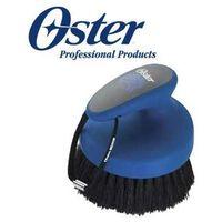Oster - face finishing brush - szczotka dla koni do łba z naturalnego włosia, niebieska