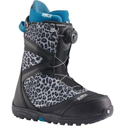 Buty - starstruck boa black/snow leopard (033) rozmiar: 40.5 Burton