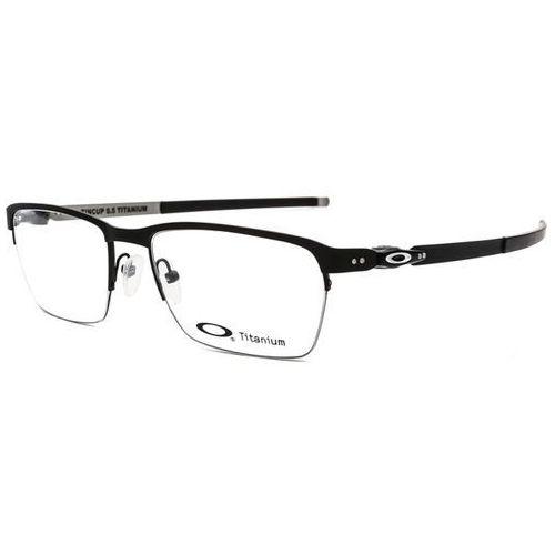 Okulary korekcyjne ox5099 tincup 0.5 titanium 509901 marki Oakley