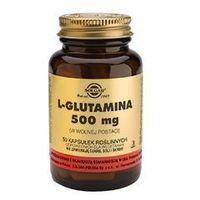 Kapsułki SOLGAR L-Glutamina 500mg x 50 kapsułek