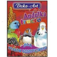 DAKO-ART Andulka Fructo - proso witaminizowane z owocami dla ptaków egzotycznych 500g (5906554351368)