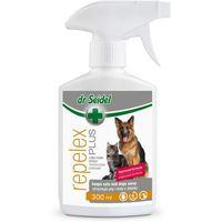 repelex plus - płyn utrzymujący psy i koty z daleka - spray 300ml marki Dr seidel