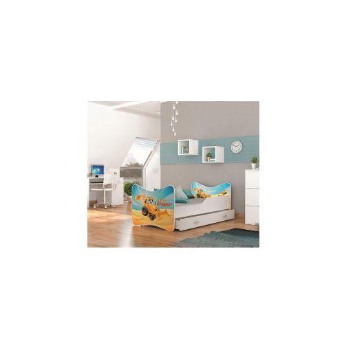 łóżko Kevin Dziecięce Rozmiar 80x160 Dostępne Kolory Biel Konstrukcja Płyta Mdf Szuflada Bez Szuflady Ajk Meble
