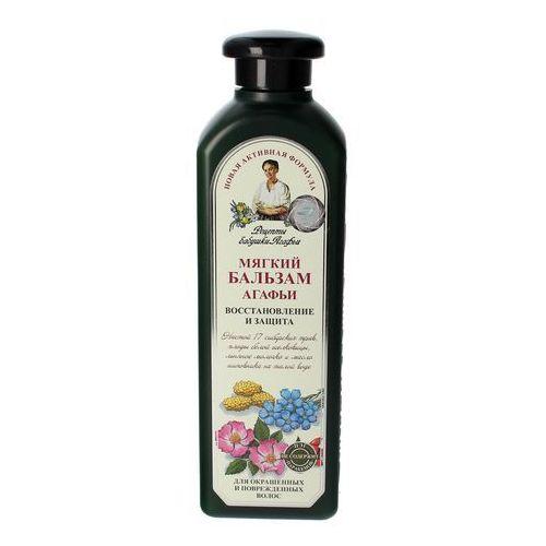 Babcia agafia Agafia rosyjska, receptury babci agafii balsam do włosów ziołowy miękki, 350ml - agafia rosyjska (4607040318643)