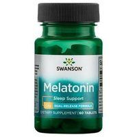 Tabletki Melatonina podwójne uwalniane 3mg 60 tabl.