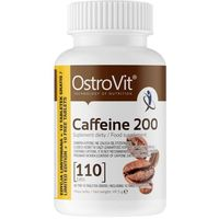 OstroVit Caffeine (Kofeina) 200 mg - 110 tabletek (5903246220605)