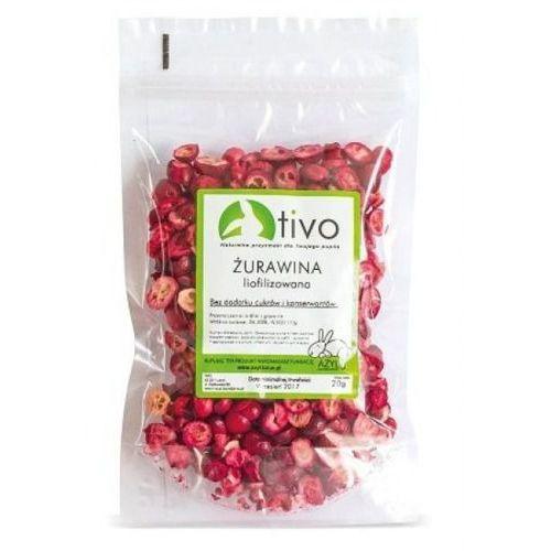 żurawina liofilizowana owoc 20g marki Tivo