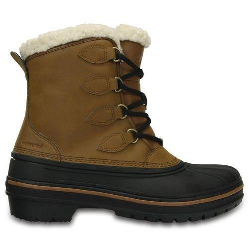 Crocs śniegowce allcast ii boot w wheat 38-39 (w8)