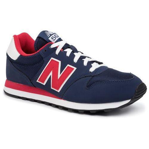 Sneakersy NEW BALANCE - GM500TRT Granatowy, kolor niebieski
