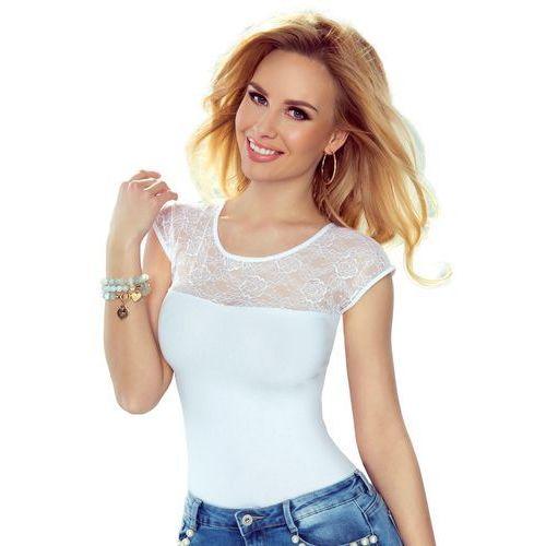 Paulina koszulka bawełniana damska Eldar Romantica Active Biała - Biały (5901490107406)