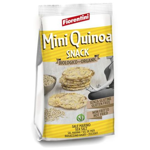 228fiorentini bio Krążki kukurydziane z quinoa komosa ryżowa 50g fiorentini