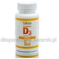 Tabletki WITAMINA D3 2000 IU, 100 tabletek, MyVita