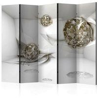 Parawan do mieszkania 5-częściowy - Abstrakcyjne diamenty II 225 szer. 172 wys.