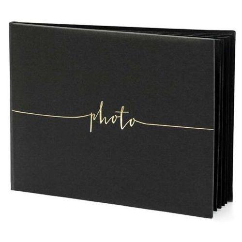 """Album na zdjęcia """"Photo"""", PartyDeco, 24 x 18,5 cm, czarny, 22 kartki (5902230789043)"""