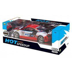 Dromader Samochód sport hot racing speed up z pakietem